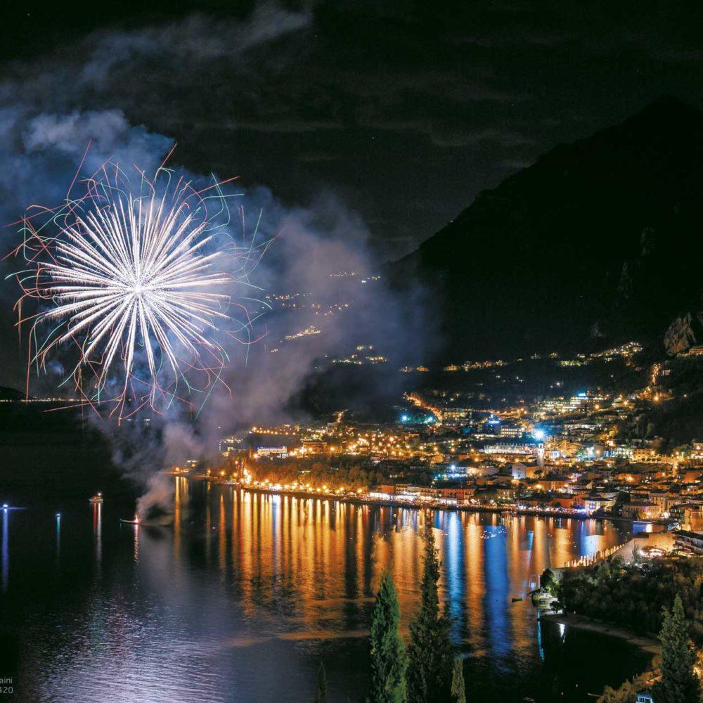 Fireworks on Limone sul Garda - Lago di Garda