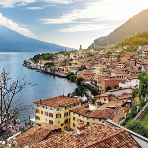 Limone sul Garda - Panoramic View